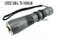 Sky Ray SR5 Flashlight 5 Mode 1000 Lumens CREE XM-L XML T6 LED Flashlight 18650 2*16340 Battery Hiking Bicycle Front Torch