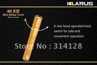 KLARUS MiX5 Mi X5 Gold Cree XP-E R2 LED AAAA Flashlight waterproof cree LED flashlights