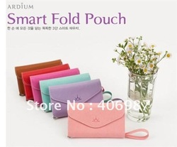 New Arrival Korea ARDIUM Smart fold Multi Pouch for iPhone 4 4s(China (Mainland))