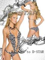 Женская туника для пляжа Fashion Hawaii Style Chiffon Sarong