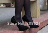 2012 Open Lips Genuine Suede Stiletto heel Women's 120mm High Heel Pumps Shoes