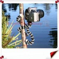 Wholesale - free shipping+ 50pcs/lot Flexible Hard Plastic Ball Leg Mini Tripod for Digital Camera