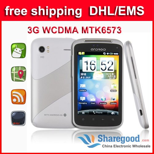 Android 2.2 GPS WIFI 3G touch screen Huawei Ideos U8150  smartphone hot selling free shipping