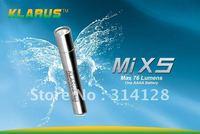 KLARUS MiX5 Mi X5 Gold Cree XP-E R2 LED 1.5v AAAA 76Lumens Stainless steel CREE LED flashlights