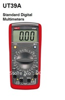 UT39A Standard Max.Display 1999 LCD Digital Multimeter AC DC Ohm Voltmeter Ammeter Tester Meter