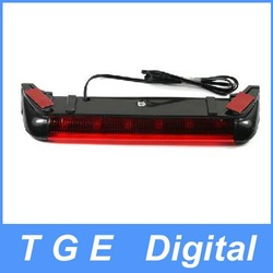 Free Shipping! Extension Eyes DC 12V Vehicles Ultra Bright Red 6-LED Tail Back Stop Decorative Lamp Light(China (Mainland))