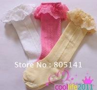 1-3y Baby Knee Socks Girl Knee High ruffle sock Cute Nonskid