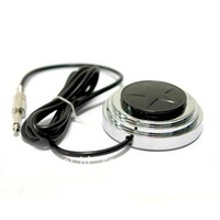 360 Degree Round Star Tattoo Foot Pedal Foot Switch Power Supply