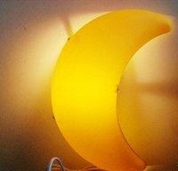 IKEA wall lamp style Moon Wall moon lights the children's room night light cartoon light cartoon wall lamp~-