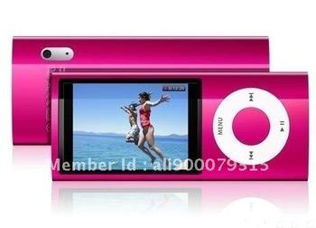 Free shipping New 8GB 5th Gen MP3/MP4/MP5 Player Camera
