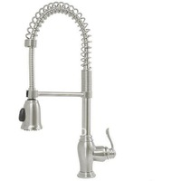 Free shipping Kitchen Faucet Swivel Pull-Down Single Lever Pull-Out New brushed nickel stainless steel clour kitchen faucet