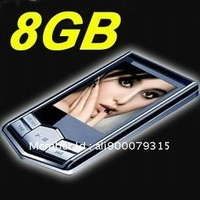 "New Shop Open Promotion! 8GB New Slim 1.8""LCD MP3 MP4 Radio FM Player Free Gift mp3 player mp4 player"