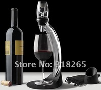 Free Shipping+Wholesale+Full Gift Set Magic Decanter,Red Wine Aerator Essential Set With Bag Hopper And Filter