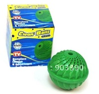Popular on TV Hot selling in Europe and America anion super decontamination green large laundry ball 20pcs/lot  shipping by DHL