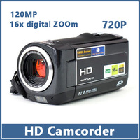 3.0 Inch TFT 12.0MP HD 16X Digital Zoom Video Camcorder Movie Recording Camera DV  1280 x 720P  EL011