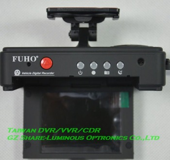 "Professional! Taiwan 3"" DVR Black Box Camera Recorder with Night Vision/105 Degree view angle/Full HD 5M CMOS Sensor Free DHL"