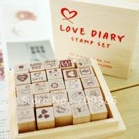 Love Diary Stamp Craft DIY Gift Set Funnyman Style Say-hi 25pcs/set
