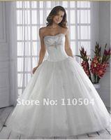 WH067 dropshipping New style sexy wholesale sleeveless wedding dress