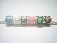 Free Shipping 10pcs/lot Silver European Beads Fit Charm Bracelet Necklace C23