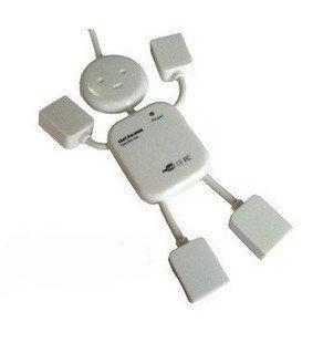 Wholesale 2pcs/lot clearance MAN USB1.1 HUB,4 PORT USB HUB CABLES + free shipping