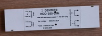 350ma constant current receptor for LED smart dimmer,two channel output,KDD-350-36V