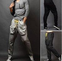 Мужские штаны Men's Pants, Cultivate casual pants, Men's leisure trousers male pants straight canister Color:3 Colors Size:M-XXXL