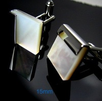 free shipping ivory Shell Shirt cuff Cufflinks  drop shipping for men's gift 539