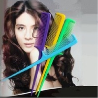 50pcs/lot free shipping general Pointed tail comb Partition comb Makeup comb Build change hair, Heat-resistant anti-static