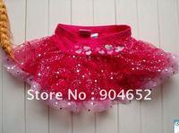 Юбка для девочек 2012 baby girls cartoon hello kitty skirt black chiffon tutu pettiskirt flutter mini skirt/ ballet dress