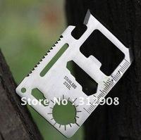 New Stainless steel 11-in-1 Emergency Card Survival Multi Tool