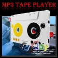 New Tape Cassette Adapter Car MP3 Player SD/MMC Card Reader(China (Mainland))