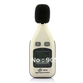 Digital Sound Noise Level Meter 30~130dB Decibel Pressure Tester LCD Audio free shipping