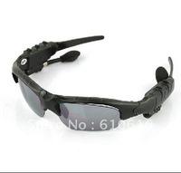 New Bluetooth + FM radio-Headset Sunglasses Mp3 Player-2GB