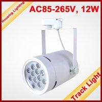 12W LED Track Light, Track Lighting Fixture, Tracking Light,  AC85-265V, 12*1W