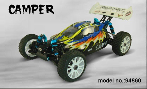 HSP nitro car/rc model car 1/8th Scale Lightweight Nitro Off-Road Buggy 94860(China (Mainland))