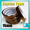3pcs New Tawny 15mm X 33m Kapton Tape High Temperature Resistant Kapton Tape
