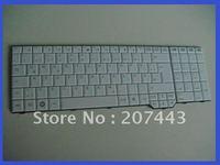 New and original GR  version Layout  Laptop Keyboard white  V080329BK4 90.4H907.U0G FOR Fujitsu Amilo XA3530