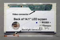 "LP141WX5 TL P2 N141I6-L01 LTN141AT12 B141EW05 V.3 SL400 T400 R400 14.1"" LED Screen Laptop Display Panel WXGA+(China (Mainland))"