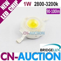 FS! Bridgelux LED Chip 1W Warm White High Power LED Lamp Beads, 45mil, 90-100lm, 2800k-3200k 200pcs/lot (CN-BLC02) [Cn-Auction]