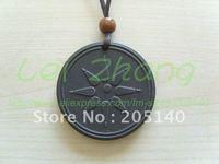 [2 pcs / lot] Quantum Scalar Energy Pendant Water-Drop Design Style Health Necklace Free shipping