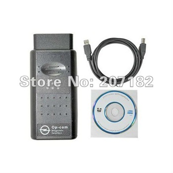 Free shipping!1pc/lot 2009V OP-COM V1.39 CAN OBD2 OP-COM Can Bus Interface Auto diagnostic Tool Can Bus Scan Tool