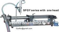 10-120ml Piston liquid/shampoo filling machine (filler)