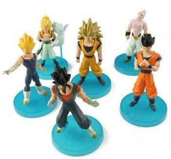 Free shipping wholesale New&Cool 6pcs Dragon Ball Z Majin Buu Saga Action Figures Toy,action figure,figure model
