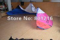 ZERO 7sqm hybrid kitesurfing +carbon kite bar +500lbs dyneema line +leash