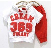 Комплект одежды для девочек 5sets baby boys girls panda clothes set 2pcs sports suit children clothing