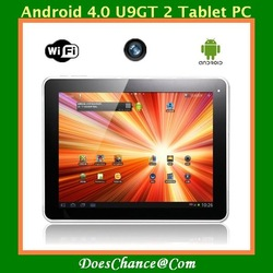 Cube U9GT2 9.7 10-Point touch Capacitive Screen Rockchip 2918 Android4.0 1GHz 1GB DDR3 16GB Tablet PC(China (Mainland))