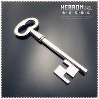 22*52 mm Tibetan Silver (50pcs) Zinc Alloy Jewelry Accessories Key Pendants(3750#) Free ship