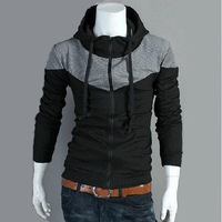 Мужской пуловер Korean men's knitted sweater polo cardigan for men fashion cashmere cotton sweater warm Sweater 228