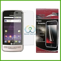 5 Pieces/ Package  Cell Phone  Screen Protective Film Screen Protector For LG Optimus M MS690