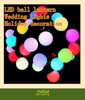 2012 LED ball lamps, fashion festivals, colorful string lights, 10 meters 100 lights